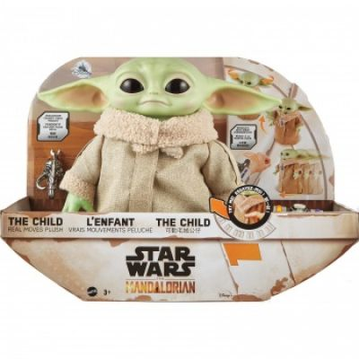 """""""Réservation Acompte"""" Star Wars The Mandalorian The Child Real Moves Plush"""