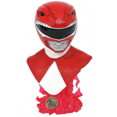 Legends in 3D TV: Mighty Morphin Power Rangers Red Ranger 1/2 Scale Bust