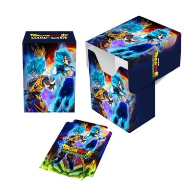 DECK BOX DRAGON BALL SUPER - Goku, Vegeta, and Broly