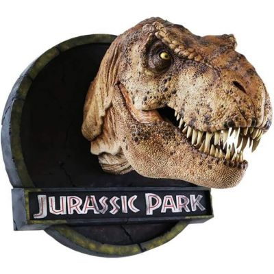 JURASSIC PARK FEMALE T-REX 1/5 Buste CHRONICLE COLLECTIBLES