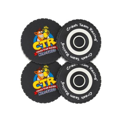 OFFICIAL CRASH TEAM RACING NITRO-FUELED Sous-verres
