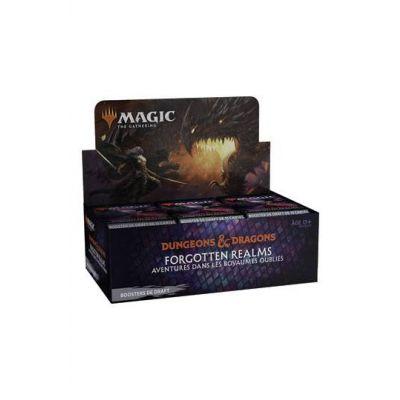 Magic the Gathering D&D Forgotten Realms présentoir boosters de draft (36) *FRANCAIS*