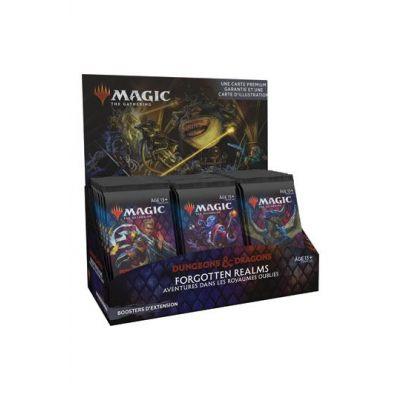 Magic the Gathering D&D Forgotten Realms présentoir boosters d'extension (30) *FRANCAIS*