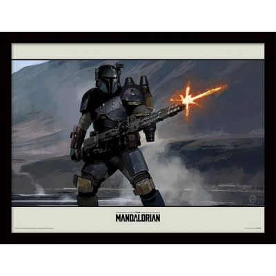 Star wars The Mandalorian Cadre collector Infantry 30x40cm