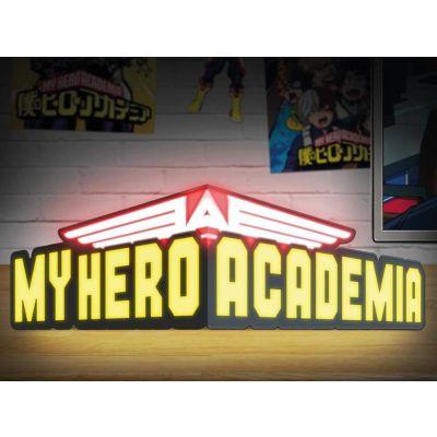 My Hero Academia Lampe Logo