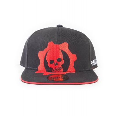 Casquette Gears Of War red and black Helmet