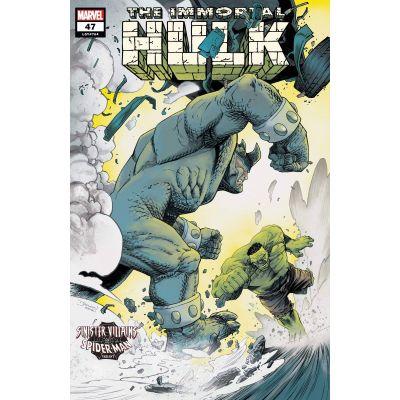 IMMORTAL HULK #47 SHALVEY SPIDER-MAN VILLAINS VAR