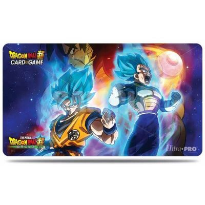 TAPIS DE JEU DRAGON BALL SUPER - Vegeta, Goku, and Broly  S4.V1