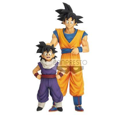 Dragonball Z statuette Zokei Ekiden Outward Son Goku 21 cm et Son Gohan Youth 15 cm