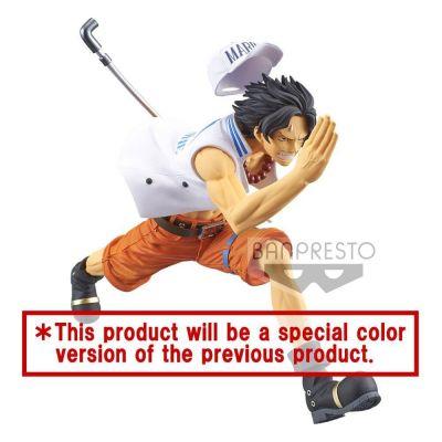 One Piece statuette PVC magazine Portgas D Ace Special Color Version