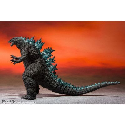 Godzilla vs. Kong 2021 figurine S.H. MonsterArts Godzilla 16 cm
