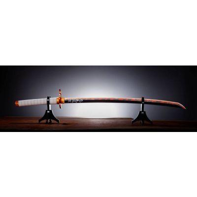 Demon Slayer : Kimetsu no Yaiba Réplique Proplica épée Nichirin (Kyojuro Rengoku) 95 cm