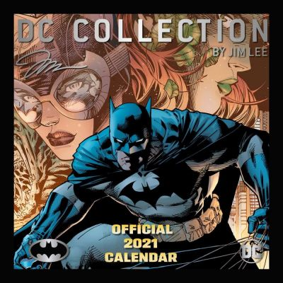 Batman Comics calendrier 2021 *ANGLAIS*