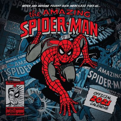 Spider-Man Posters calendrier 2021 *ANGLAIS*