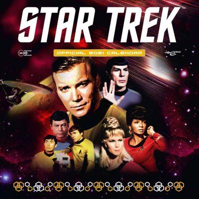 Star Trek TOS calendrier 2021 *ANGLAIS*