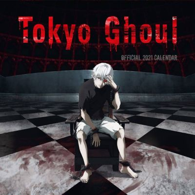 Tokyo Ghoul calendrier 2021 *ANGLAIS*