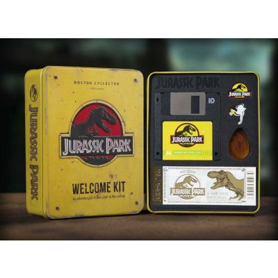 Jurassic Park Welcome Kit Amber Limited Edition