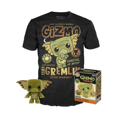 Gremlins POP! & Tee set figurine et T-Shirt Gizmo heo Exclusive (XL)