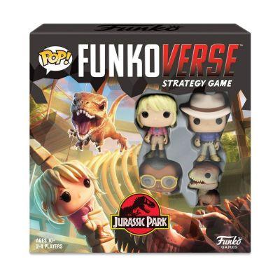 Jurassic Park Funkoverse jeu de plateau Jeu De Base *ANGLAIS*