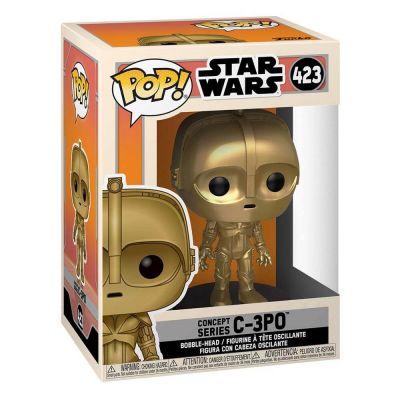 Star Wars Concept POP! Star Wars Vinyl Figurine C-3PO 9 cm