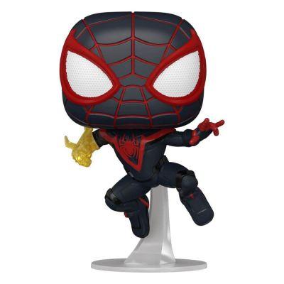 Marvel Spider-Man POP! Games Vinyl figurines Miles Morales Classic Suit 9 cm