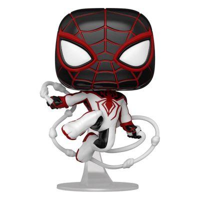 Marvel Spider-Man POP! Games Vinyl figurine Miles Morales Track Suit 9 cm