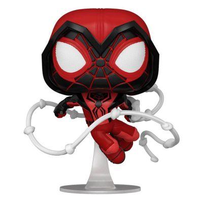 Marvel Spider-Man POP! Games Vinyl figurine Miles Morales Red Suit 9 cm