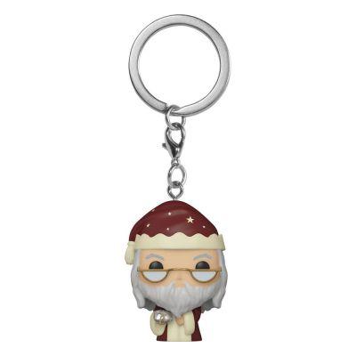 Porte-clés Pocket POP! Vinyl Holiday Albus Dumbledore 4 cm