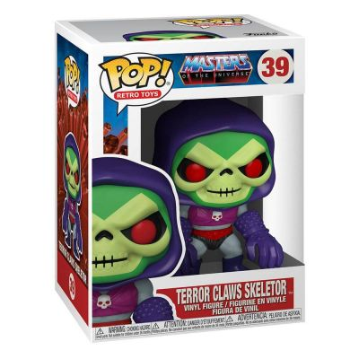 Masters of the Universe POP! Animation Vinyl figurine Skeletor w/Terror Claws 9 cm