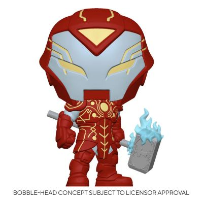 Marvel Infinity Warps Figurine POP! Vinyl Iron Hammer 9 cm