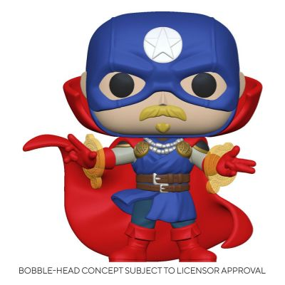 Marvel Infinity Warps Figurine POP! Vinyl Soldier Supreme 9 cm