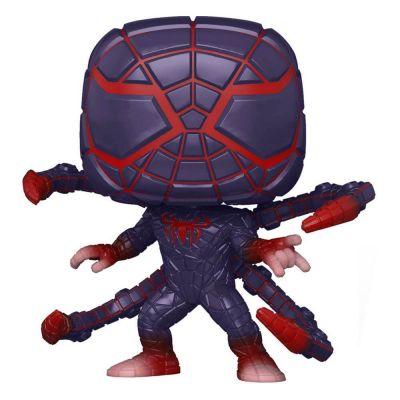 Marvel Spider-Man POP! Games Vinyl figurine Miles Morales PM Suit 9 cm