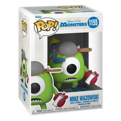 Monstres & Cie 20th Anniversary POP! Disney Vinyl figurine Mike with Mitts 9 cm