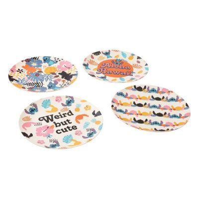 Lilo & Stitch pack 4 plaques Aloha Hawaii