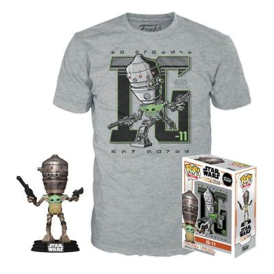 Star Wars The Mandalorian POP & Tee Child In Satchel Size S