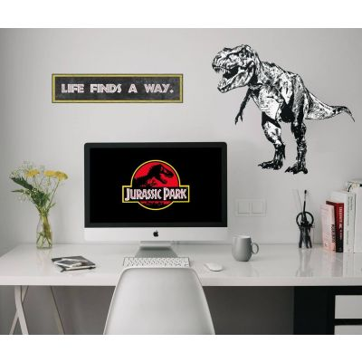 Jurassic Park stickers repositionnables