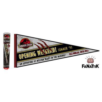 Jurassic Park fanion Opening Weekend