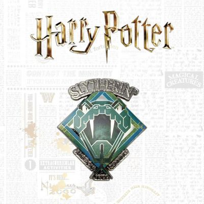 Harry Potter pin's Slytherin Limited Edition