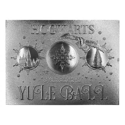 Harry Potter réplique Yule Ball Ticket Limited Edition (plaqué argent)