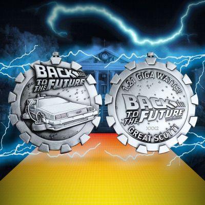 Retour vers le Futur médaillon Logo Limited Edition