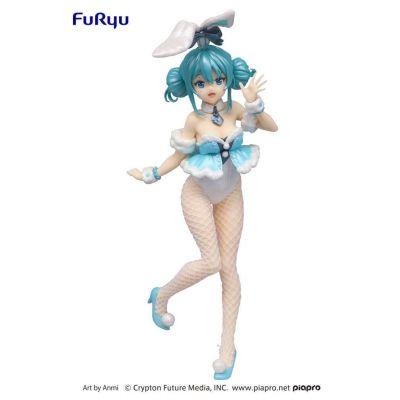 Hatsune Miku statuette PVC BiCute Bunnies Hatsune Miku White Rabbit Pearl Color ver.