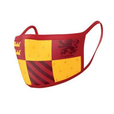 Harry Potter pack 2 Masques en tissu Gryffondor