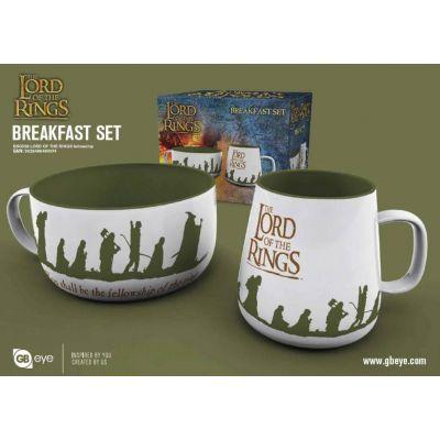 Le Seigneur des Anneaux set petit-déjeuner Fellowship