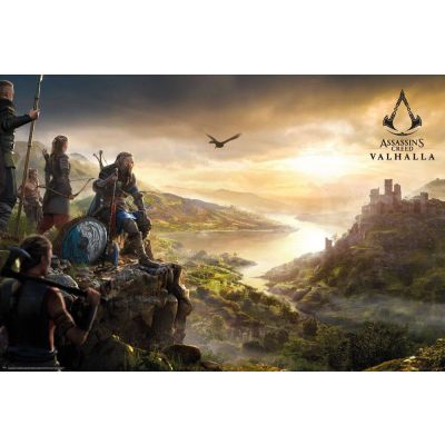Assassins Creed Valhalla pack posters Vista 61 x 91 cm