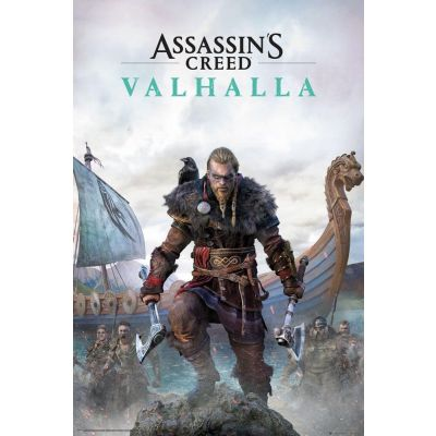Assassins Creed Valhalla pack posters Standard Edition 61 x 91 cm