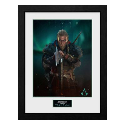 Assassins Creed Valhalla poster encadré Collector Print Eivor