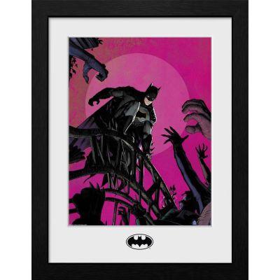 Batman poster encadré Collector Print  Arkham