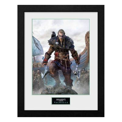 Assassins Creed Valhalla poster encadré Collector Print Standard Edition