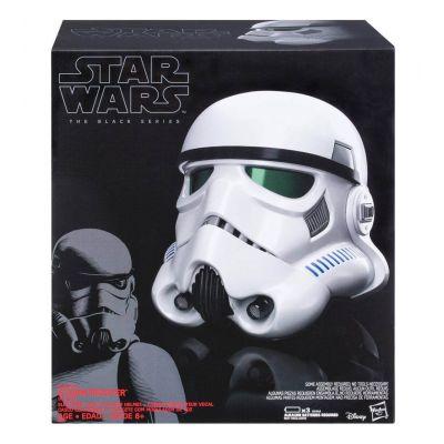 Star Wars Rogue One Black Series casque électronique changeur de voix Imperial Stormtrooper