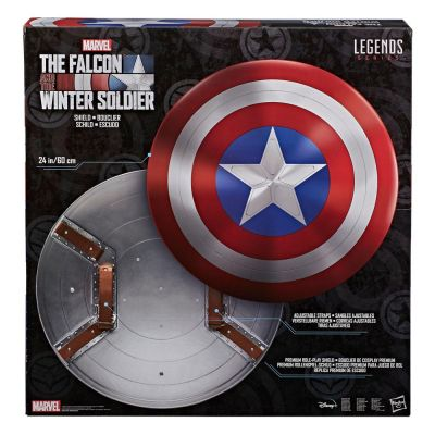 The Falcon and The Winter Solder Marvel Legends Bouclier Role-Play premium 60 cm